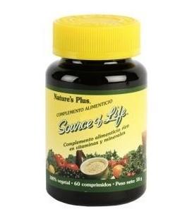 NATURE'S PLUS Source of Life, 60 comprimidos