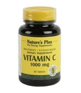 NATURE'S PLUS Vitamina C 1000mg, 60 comprimidos