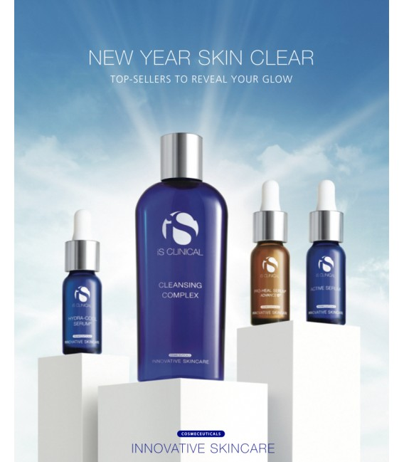 Pack New Year Skin Clear IS CLINICAL