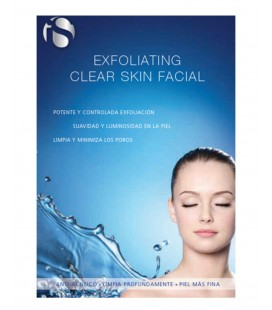 EXFOLIATING CLEAR SKIN FACIAL IS CLINICAL